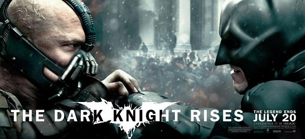 Bane y Batman en El Caballero Oscuro: La Leyenda Renace