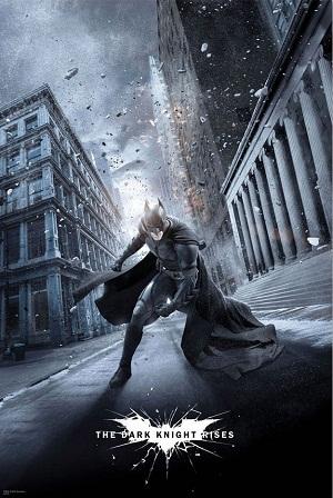 Batman en El Caballero Oscuro: La Leyenda Renace
