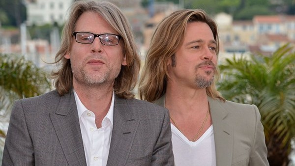 Andrew Dominik y Brad Pitt en Cannes