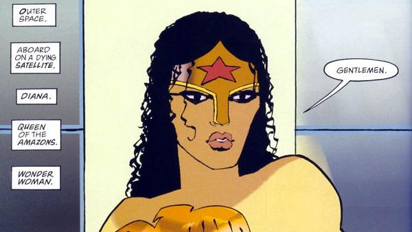 Wonder Woman en Batman: El Contraataque del Caballero Oscuro
