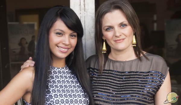 Cindy Díaz e Isabel de Ocampo