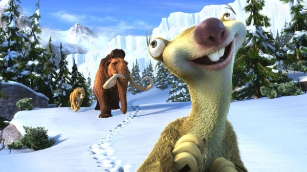 Los protagonistas de Ice Age 4: La Formación de los Continentes