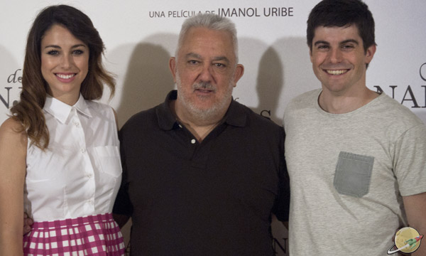 Miel de naranjas / Blanca Suárez, Imanol Uribe e Iban Garate