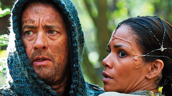 Tom Hanks y Halle Berry en Cloud Atlas
