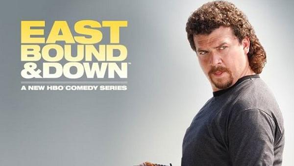 Danny McBride en De Culo y Cuesta Abajo (Eastbound & Down)