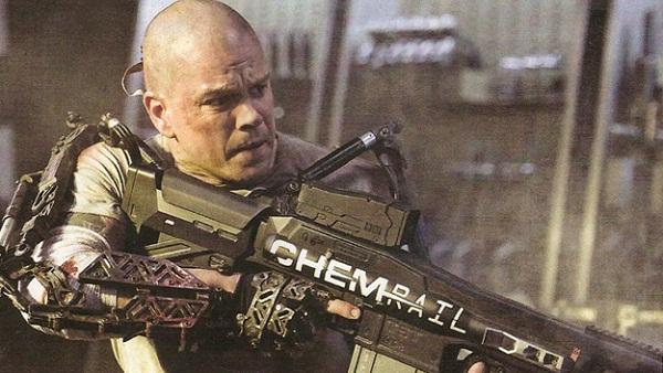 Matt Damon en Elysium