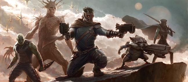 Guardians of the Galaxy - Guardianes de la Galaxia