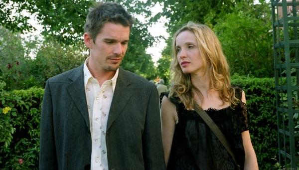 Ethan Hawke y Julie Deply en Antes del Atardecer