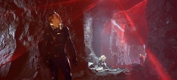 Michael Fassbender en Prometheus