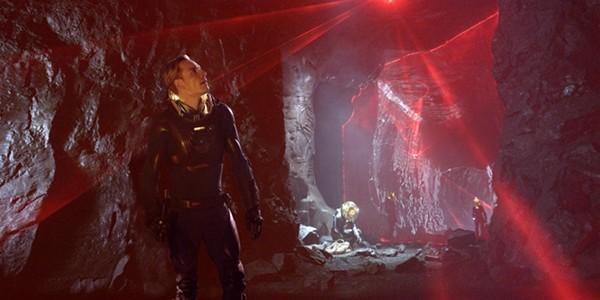 Prometheus / Michael Fassbender