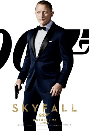 Daniel Craig es James Bond en Skyfall