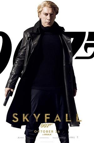Javier Bardem es Silva en Skyfall