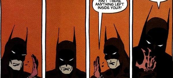 Catwoman y Batman en Victoria Oscura