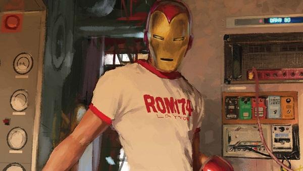 Iron Man, por Gerald Parel
