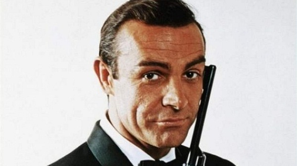 Sean Connery como James Bond