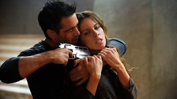 Colin Farrell y Kate Beckinsale en Desafío Total