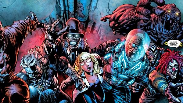 Mr. Freeze, Clayface... en El Caballero Nocturno. Terrores Nocturnos