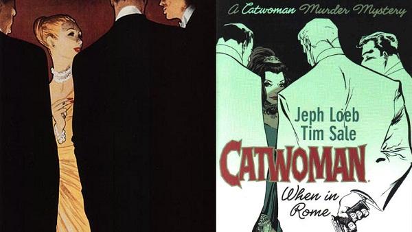 René Gruau y Catwoman: Si Vas a Roma - Martes