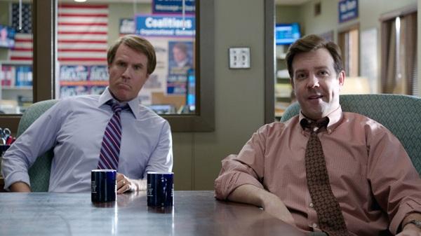 Jason Sudeikis y Will Ferrell en En Campaña Todo Vale