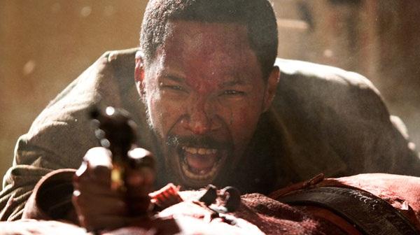 Jamie Foxx en Django Desencadenado