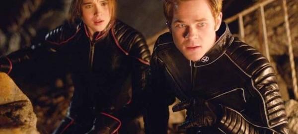 Ellen Page (Kitty Pryde) y Shawn Ashmore (Hombre de Hielo)