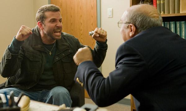 Bradley Cooper en El Lado Bueno de las Cosas