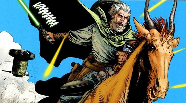 Dass Jennir en Star Wars: Tiempos Oscuros