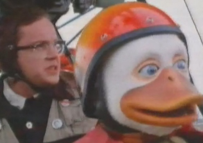 Tim Robbins en Howard el Pato