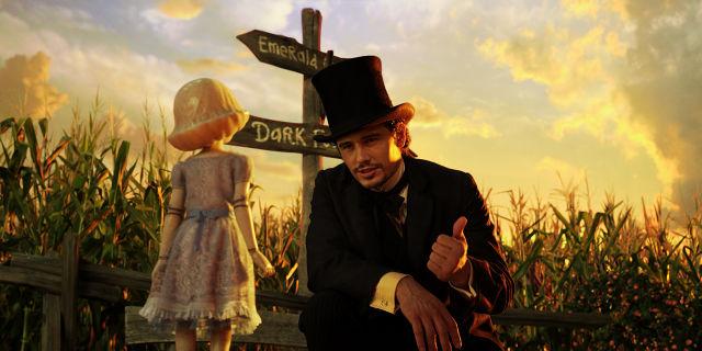 James Franco en Oz, un Mundo de Fantasía