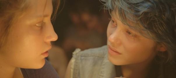 Adèle Exarchopoulos y Léa Seydoux en La Vida de Adèle