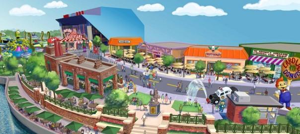 Los Simpson en Universal Studios Orlando