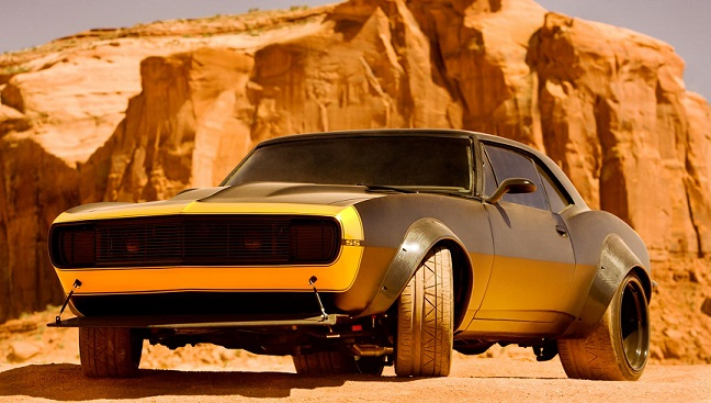 Bumblebee, como un Camaro 'tuneado' de 1967