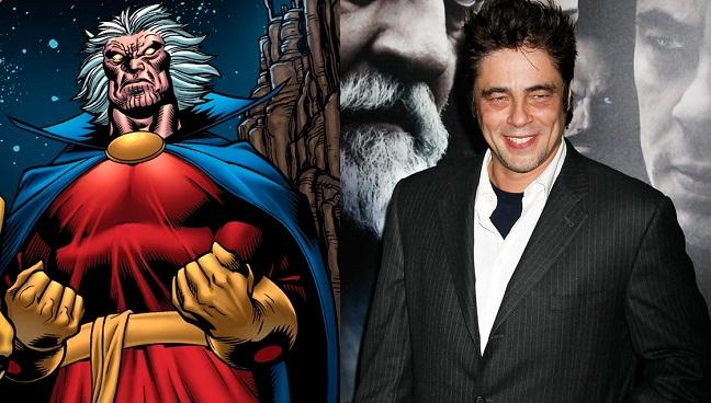 Benicio del Toro y el Coleccionista
