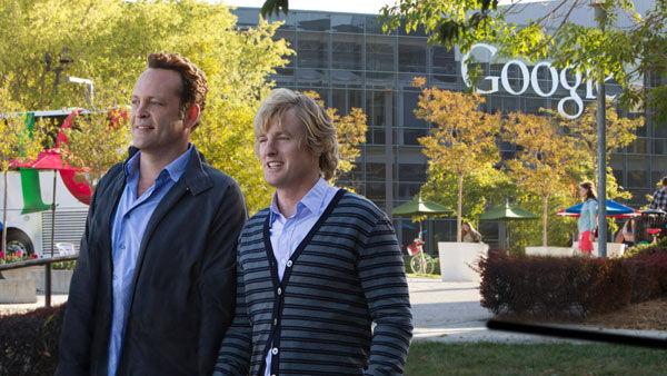 Owen Wilson y Vince Vaughn en Google