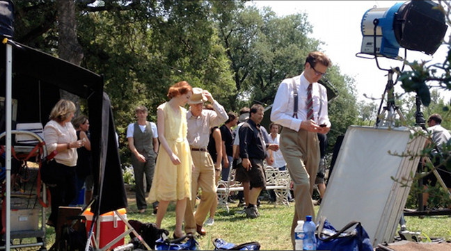 Emma Stone, Colin Firth y Woody Allen