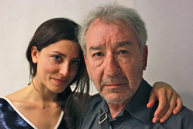 Bárbara Lennie y José Sacristán