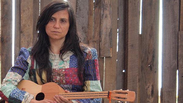Francisca Gavilán en Violeta se fue a los cielos
