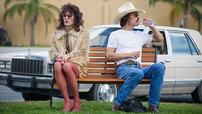 Matthew McConaughey y Jared Leto en Dallas Buyers Club