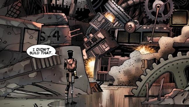 Forja en Vengadores Secretos #28