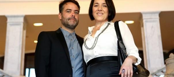 Sebastián Leilo y Paulina García