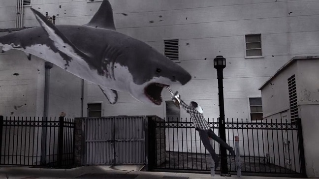Ian Ziering en Sharknado