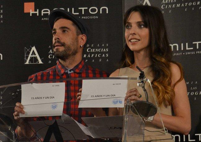 Unax Ugalde y Leticia Dolera