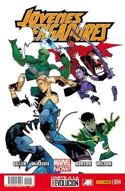 Jóvenes Vengadores #4