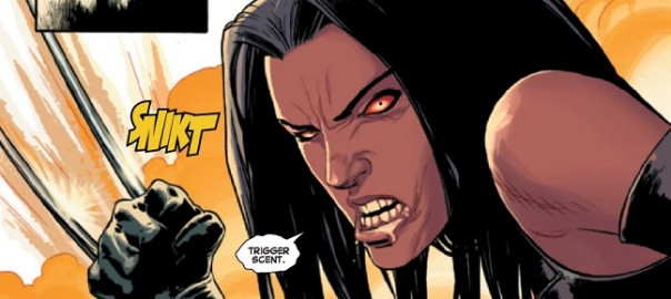 X-23 en Los Vengadores Arena