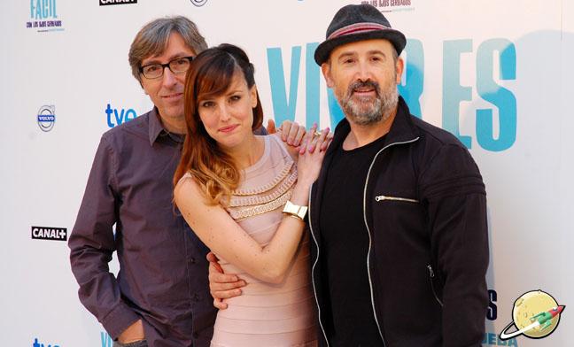 David Trueba, Natalia de Molina y Javier Cámara