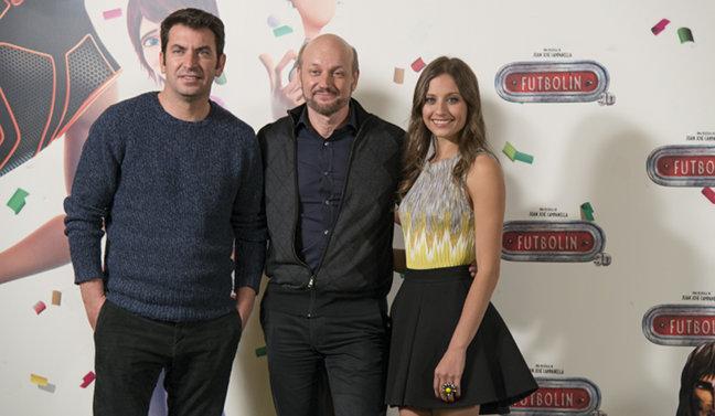 Arturo Valls, Juan José Campanella y Michelle Jenner