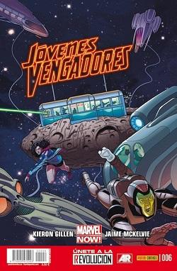 Jóvenes Vengadores #6
