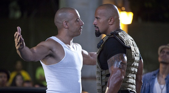 Vin Diesel y Dwayne Johnson