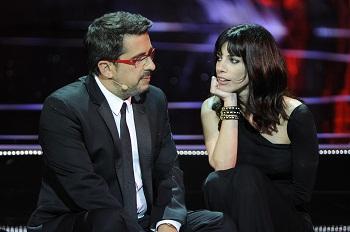 Buenafuente y Maribel Verdú