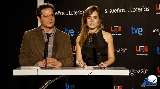 Lectura Goyas, Marta Etura y Jorge Sanz